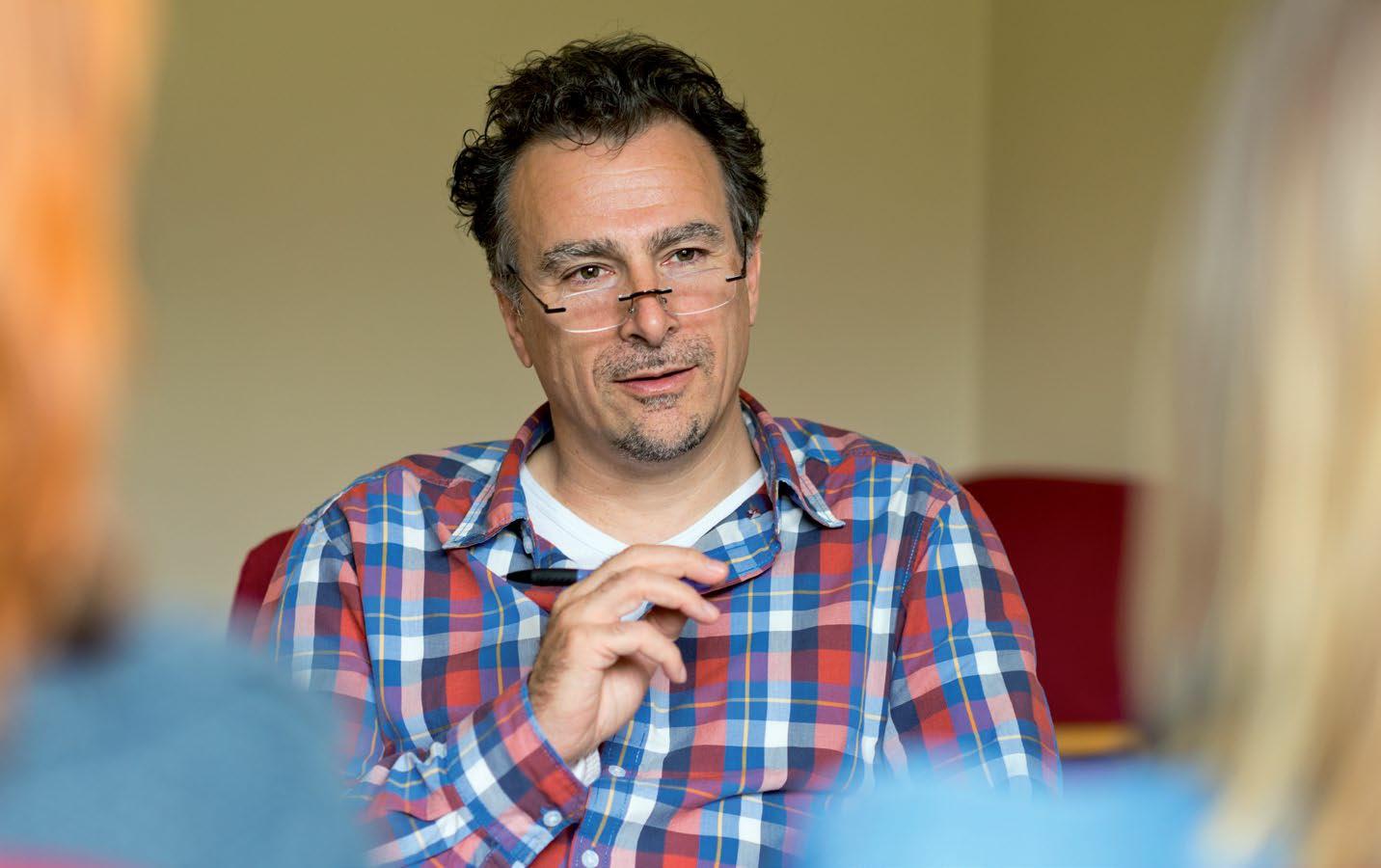 prof. Peter Rober, PhD, coördinator postgraduaat relatie-, familie- en systeempsychotherapie